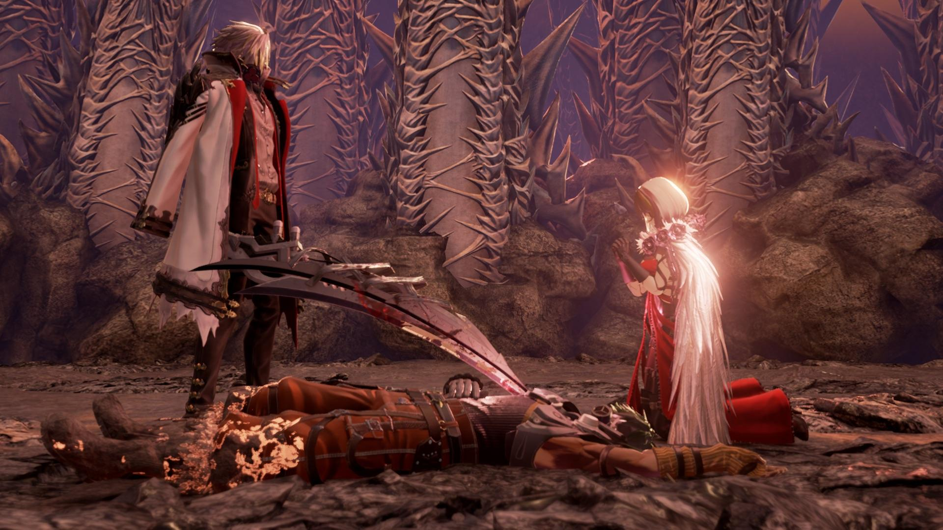 Code Vein Shows Off Eva And Jack And A New Location In New